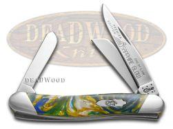 Case xx Medium Stockman Knife Slant Series Sapphire Glow Corelon 1/2500 S9318SG
