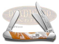Case xx Med Stockman Knife Slant Series Tennessee Orange Corelon 1/2500 S9318TN