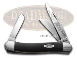 Case xx Med Stockman Knife America's Black Coal Corelon 1/1200 Stainless 9318ABC