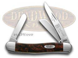 Case xx Medium Stockman Knife Black Lava Genuine Corelon 1/500 Stainless 9318BKL