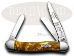 Case xx Medium Stockman Knife Butter Rum Genuine Corelon 1/500 Stainless 9318BR