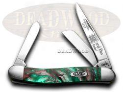 Case xx Medium Stockman Knife Coral Sea Genuine Corelon 1/500 Stainless 9318CS