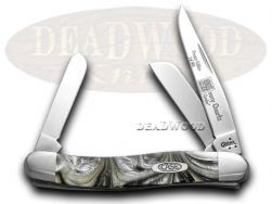 Case xx Med Stockman Knife Gray Quartz Genuine Corelon 1/500 Stainless 9318IQ