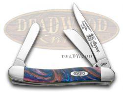 Case xx Med Stockman Knife Lollypop Genuine Corelon 1/500 Stainless 9318LP-LTD