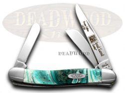 Case xx Med Stockman Knife Cloud Land Genuine Corelon 1/500 Stainless 9318LTD-CL