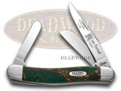 Case xx Medium Stockman Knife Rain Forrest Genuine Corelon 1/500 9318RF-LTD