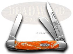 Case xx Medium Stockman Knife Tennessee Orange Genuine Corelon 1/500 9318TN