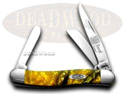 Case xx Medium Stockman Knife 24K Genuine Corelon 1/500 Stainless 931824KT