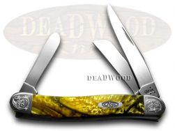 Case xx Medium Stockman Knife 24K Corelon Engraved Bolster Stainless 931824KT/E