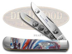 Case xx 2000 State Quarters Trapper Knife Star Spangled Banner 1/3000 2000