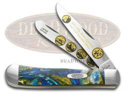 Case xx 2001 Gold State Quarters Trapper Knife Sapphire Glow 1/3000 2001