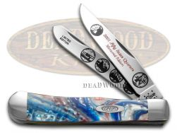 Case xx 2001 State Quarters Trapper Knife Star Spangled Banner 1/3000 2001