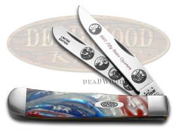 Case xx 2002 State Quarters Trapper Knife Star Spangled Banner 1/3000 2002