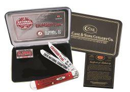 Case xx Alabama 2020 National Champions Trapper Knife Red Bone AL20-CATRPB