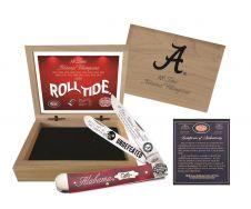 Case xx Alabama 2020 18-Time National Champs Trapper Knife Red Bone AL20-CATRSB