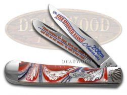 Case xx Trapper Knife Star Spangled Banner 200th Anniversary Corelon Stainless