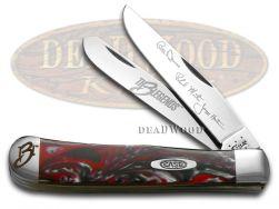 Case xx Trapper Knife The 3 Legends Dance, Martin & Houston Autographs 1/3000