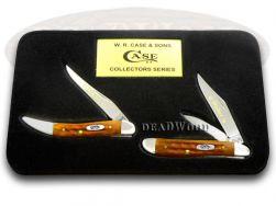 Case xx Mother & Daughter Peanut & Toothpick Set Knife Harvest Orange 1/500