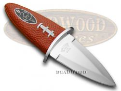 Canal Street Fixed Blade Football Knife Genuine Leather Sport Collectible CTF-10