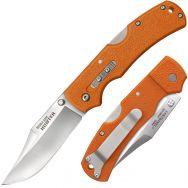 COLD STEEL Double Safe Hunter 23JB Knife 8Cr13MoV Stainless Steel & Blaze Orange
