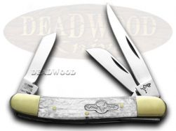 German Bull Range Rider Knife Cracked Ice Stainless Pocket Knives GB-106CI