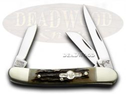 German Bull Stockman Knife Deer Stag Stainless German Pocket Knives GB-106