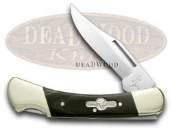 German Bull Buffalo Horn Lockback Pocket Knife 110BH Knives