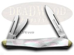 Hen & Rooster Whittler Knife Mother of Pearl Carbon Pocket Knives 233-MOP