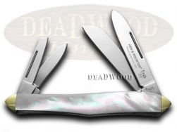 Hen & Rooster Whittler Knife Mother of Pearl Carbon Pocket Knives 234-MOP