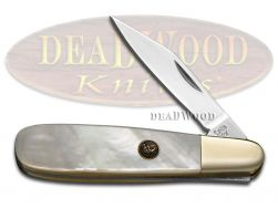 Hen & Rooster Barlow Knife Mother of Pearl Stainless Pocket Knives 241-MOP
