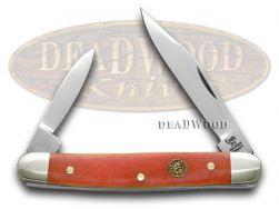 Hen & Rooster Red Smooth Bone Pen Pocket Knife 302RSB Knives