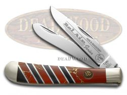 Hen & Rooster Trapper Knife Red Matrix Stone Bel Air Series Stainless 312BA/RM