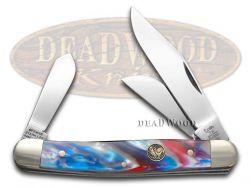 Hen & Rooster Star Spangled Stockman Pocket Knife 313STAR Knives