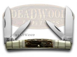 Hen & Rooster Stag Congress Pocket Knife 324C-DS Knives German