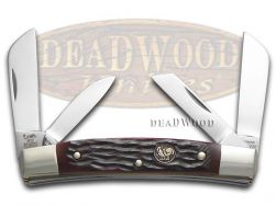 Hen & Rooster Congress Knife Brown Pick Bone Stainless Pocket Knives 344-BRPB