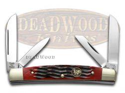 Hen & Rooster Red Pickbone Congress Pocket Knife 364C-RPB Knives