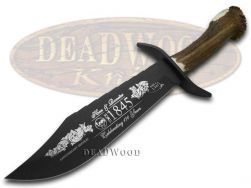 Hen & Rooster Bowie Knife Deer Stag 1/1845 170th Anniv Stainless 5000B/170