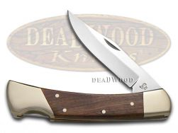 Hen & Rooster Natural Wood Lockback Hunter Stainless 6011NW Pocket Knife