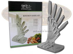 Hen & Rooster 5-Piece Kitchen Knife Set Stainless Steel Cutlery HRI-032