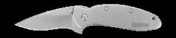Kershaw Scallion Frame Lock Knife Stainless Steel Handle 420HC Blade 1620FL