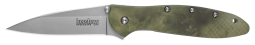 Kershaw Leek Liner Lock Knife Camo 6061-T6 Aluminum Sandvik Stainless 1660CAMO