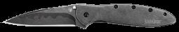 Kershaw Leek Knife Blackwash Stainless D2 & 14C28N Composite Blade 1660CBBW