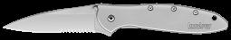 Kershaw Leek Frame Lock Knife Stainless Steel Handle 14C28N 1660ST Pocket Knives