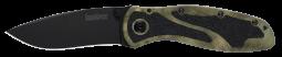 Kershaw Blur Liner Lock Knife Camo Aluminum & DLC Sandvik Stainless 1670CAMO