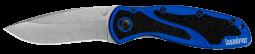 Kershaw Blur Liner Lock Knife Navy Blue Anodized Aluminum 14C28N Steel 1670NBSW