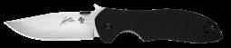Kershaw CQC-6K D2 Emerson Frame Lock Knife Black G-10 6034D2 Pocket Knives