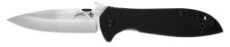 Kershaw Emerson CQC-4KXL D2 Frame Lock Knife Black G-10 6055D2 Pocket Knives
