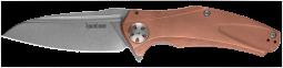 Kershaw Natrix XL Frame Lock Knife Solid Copper D2 Carbon Steel 7008CU