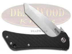Southern Grind Bad Monkey Liner Lock Knife Black Carbon-fiber Pocket SG02050008