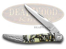 Schatt & Morgan Genuine Chipped Mammoth Fossil Toothpick 110CMI Knife